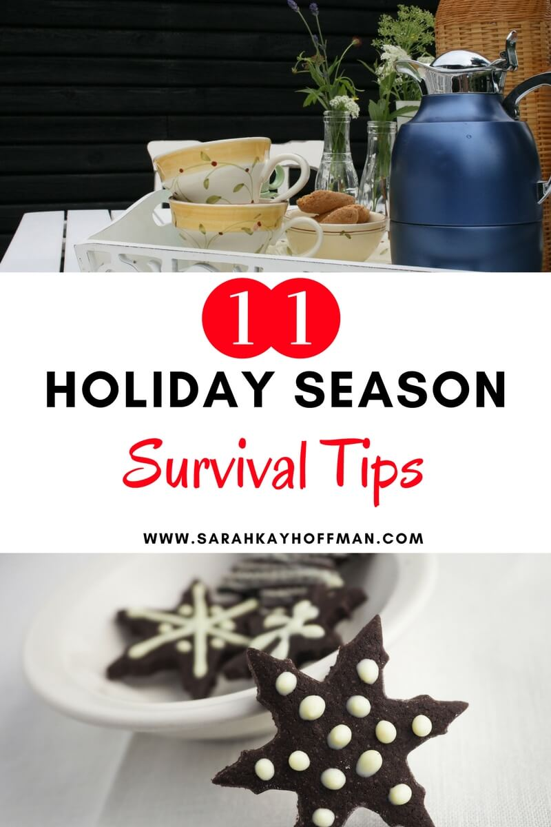 11 Holiday Season Survival Tips agutsygirl.com #holiday #guthealth #guthealing