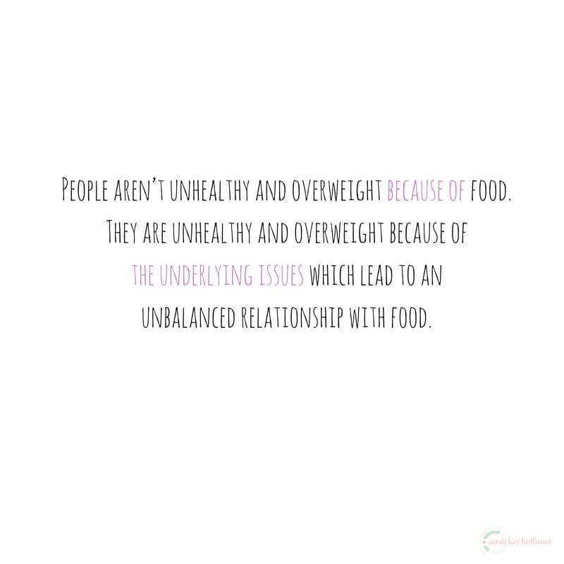 Create Your Healthy Lifestyle Food sarahkayhoffman.com