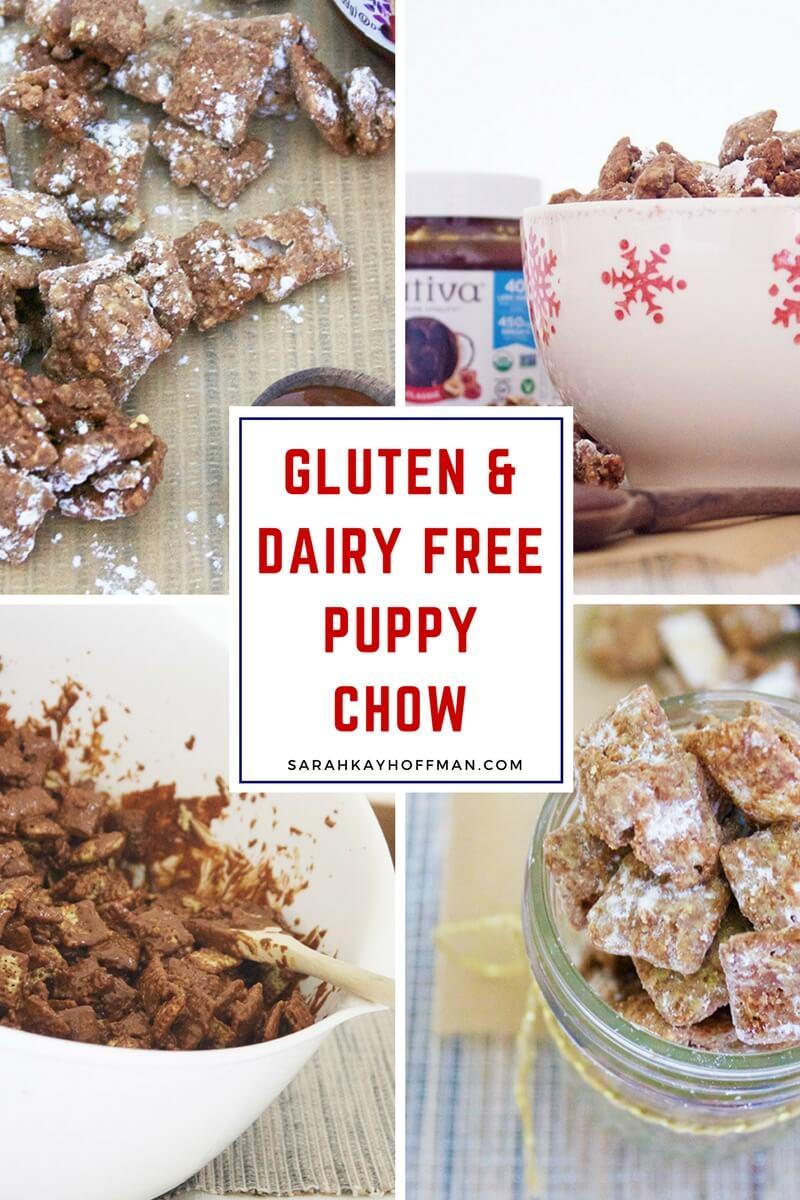 Gluten Free Puppy Chow sarahkayhoffman.com #glutenfree #dairyfree #puppychow #holiday #healthyliving
