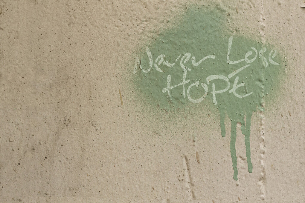 Still Hope Inspired Information Overload sarahkayhoffman.com Never Lose Hope