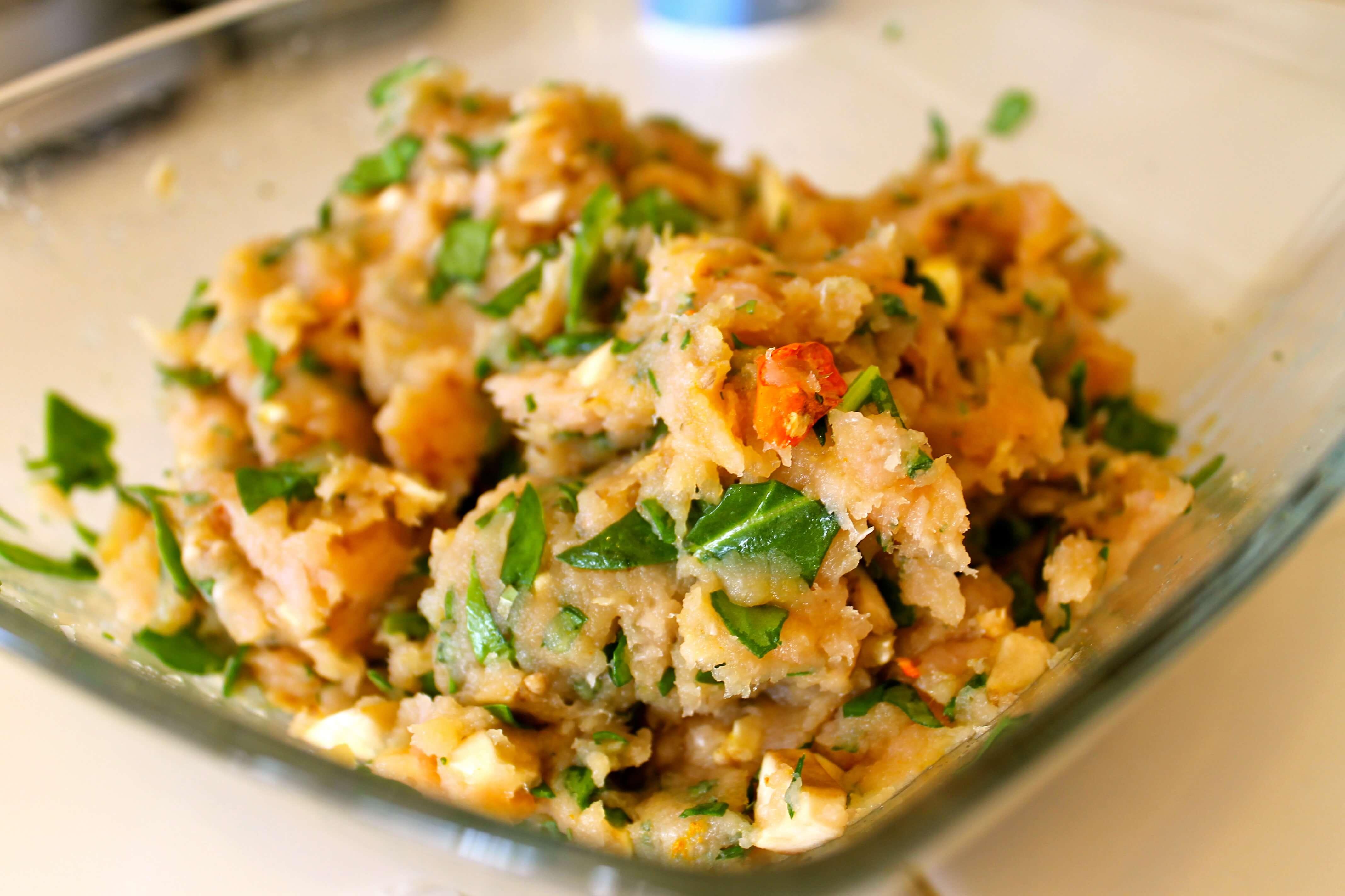 Mushroom and Spinach Turkey Burgers sarahkayhoffman.com