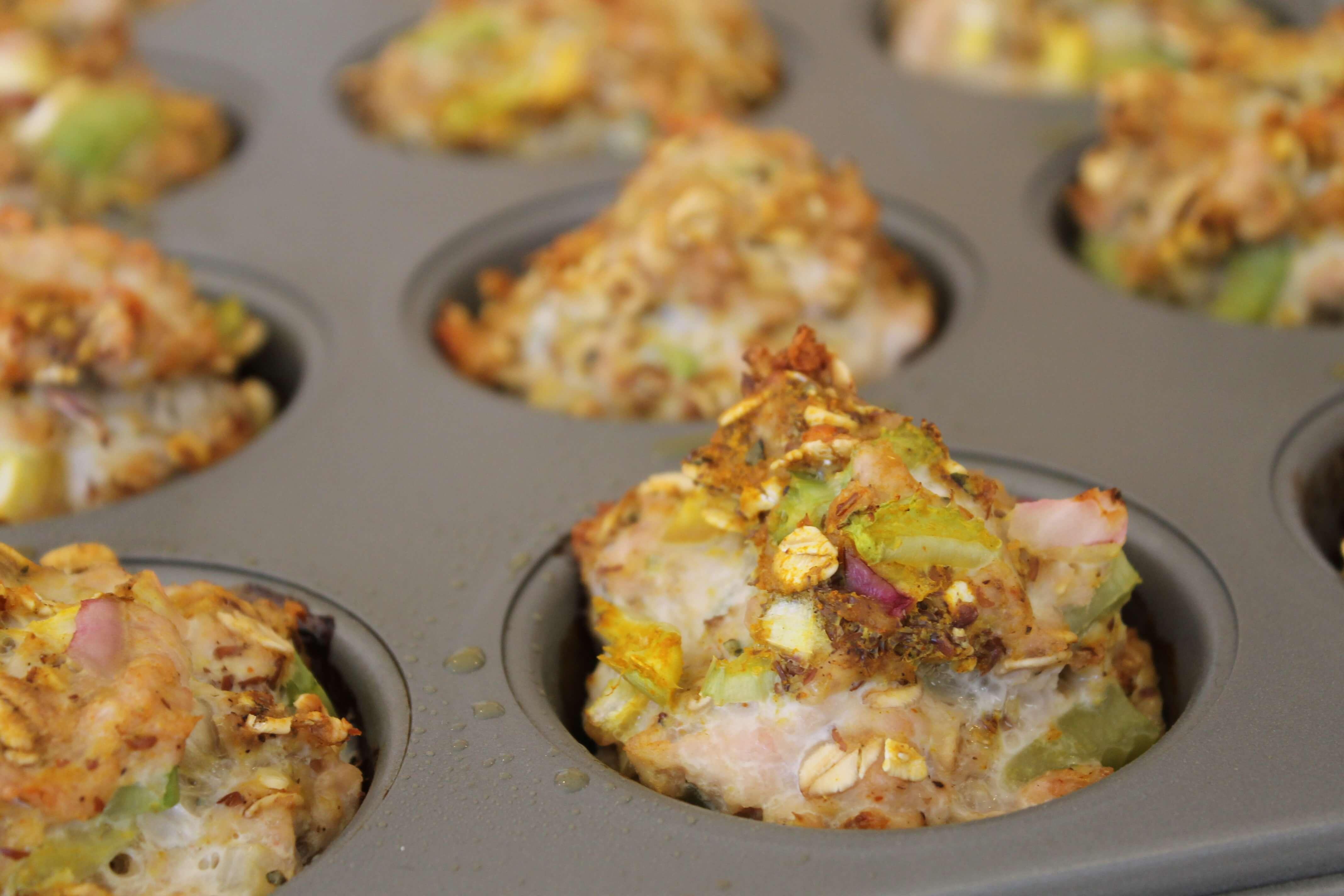 Gluten-Free Turkey Meatloaf Muffins Mixture Regular-sized Gluten-Free ...