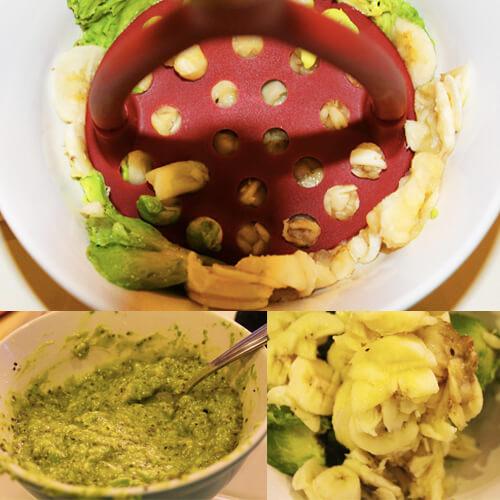 4-Ingredient Breakfast Pudding Collage