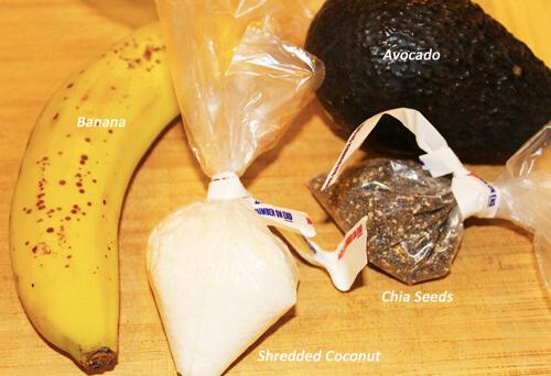 4-Ingredient Breakfast Pudding Ingredients