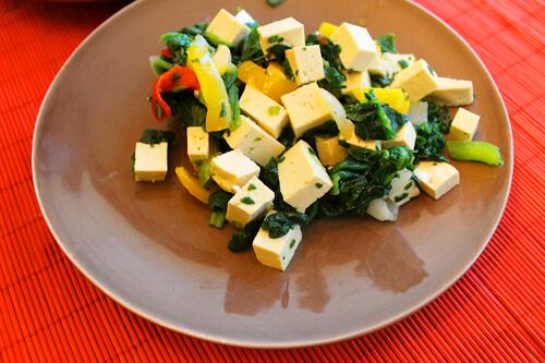 Breakfast Scramble Tofu
