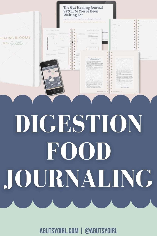 Digestion Food Journaling agutsygirl.com #digestion #guthealth #foodjournal #eliminationdiet