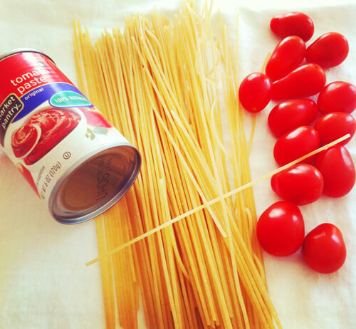 Gluten-Free Turkey Spaghetti Ingredients