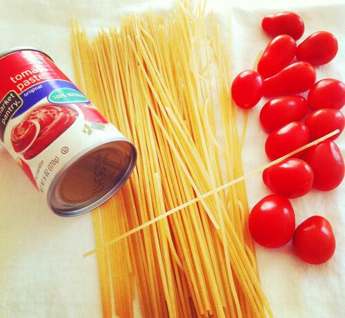 Gluten-Free Turkey Spaghetti Ingredients