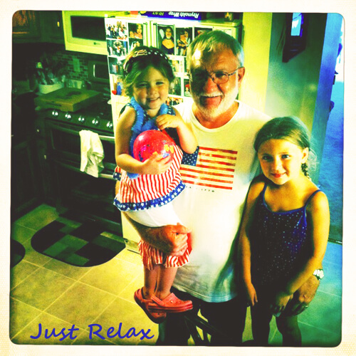 Just Relax Uncle Jack, Sophie & Emma sarahkayhoffman.com