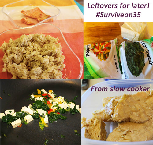 Leftovers Day 1 Collage