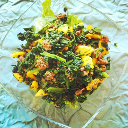 Mango-Beef Salad