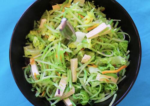 Tofu Slaw Salad