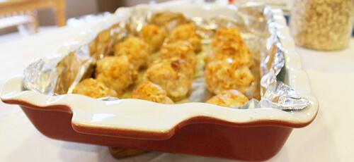 Pumpkin Spiced Meatballs with a Pumpkin Spice Sauce agutsygirl.com