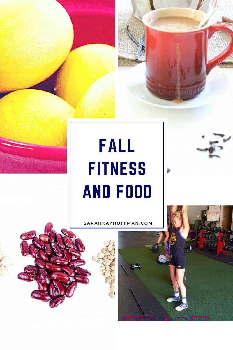 Fall Fitness and Food via sarahkayhoffman.com