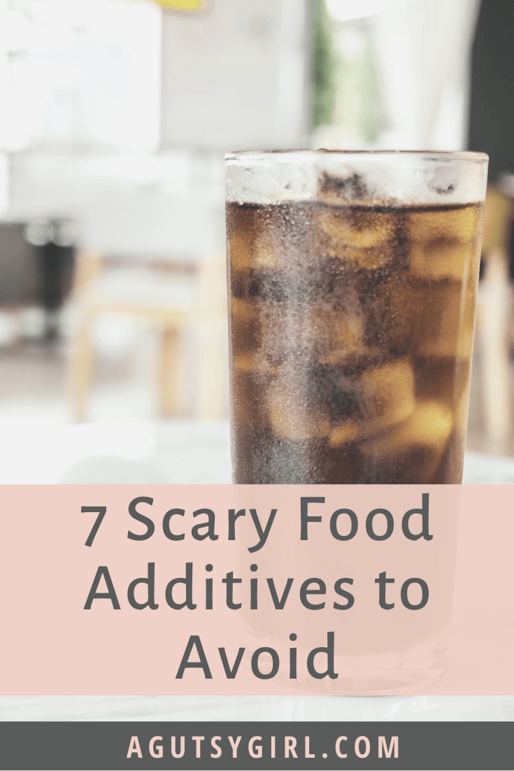 7 Scary Food Additives to Avoid agutsygirl.com #foodadditives #guthealth #food