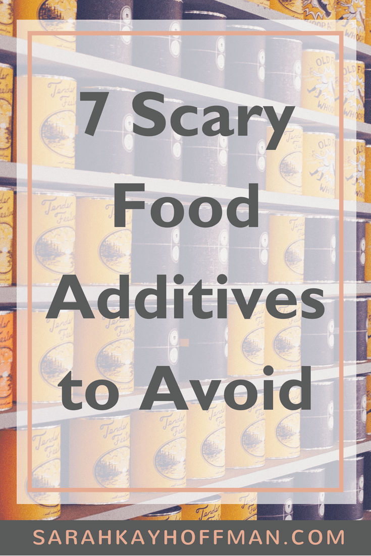 7 Scary Food Additives to Avoid www.sarahkayhoffman.com #halloween #guthealth #healthyliving