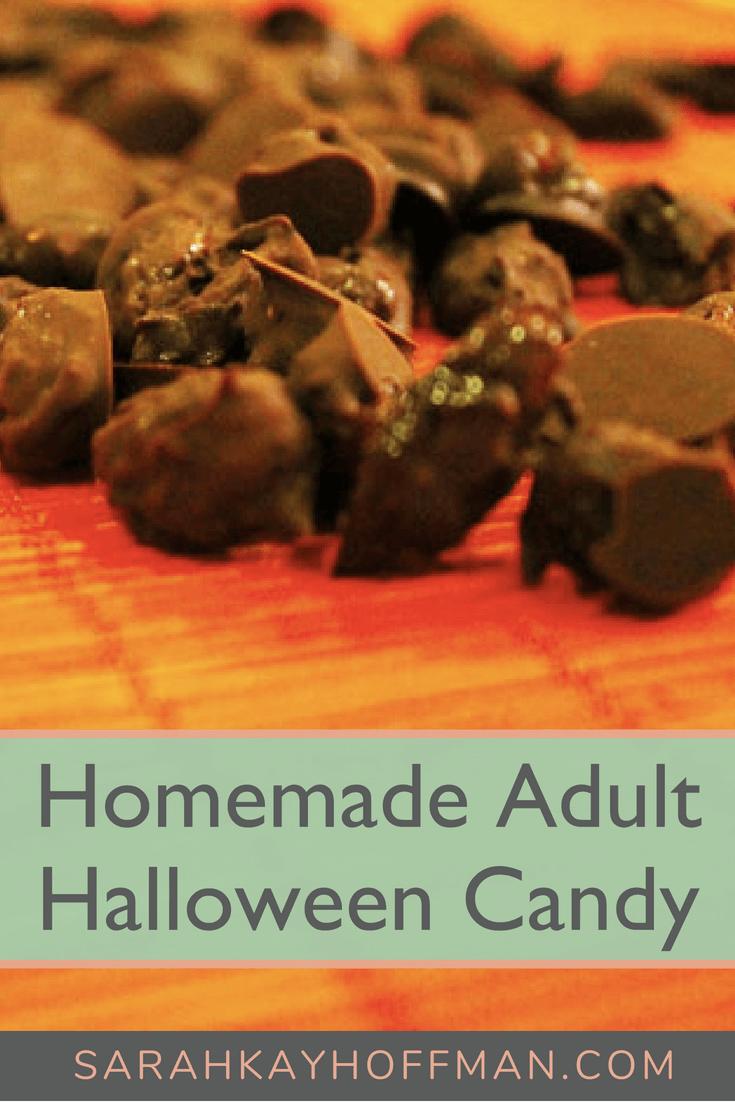 Homemade Adult Halloween Candy www.sarahkayhoffman.com #paleo #halloween #healthyliving #glutenfreerecipe