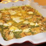 Sweet Potato Hash Breakfast Casserole: Pre-Baked