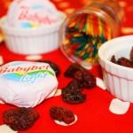 Mini Babybel Light & Dried Bing Cherries