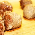 Mini Swedish Meatballs: Cooked
