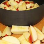 Pomegranate Apple Cider Apples, Chopped