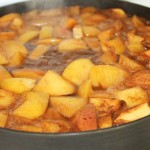 Apple Cider Simmering