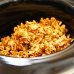 Slow-Cooked, Pumpkin Granola in Slow Cooker
