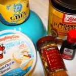 Pumpkin-Spiced Cream Cheese Ingredients