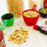 Slow-Cooked, Pumpkin Granola Ingredients