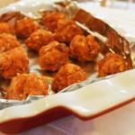 Pre-Cooked Pumpkin Meatballs