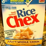 Rice Chex Cereal for Puppy Chow