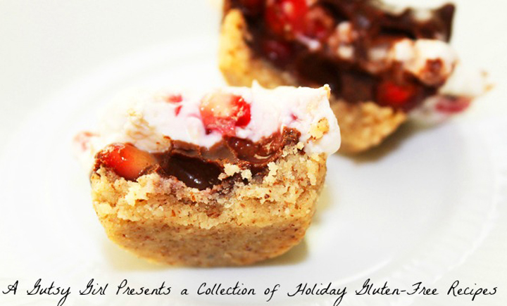 A Gutsy Girl Presents a Collection of Holiday Gluten Free Recipes. A free e-book for the holiday season. All gluten free. sarahkayhoffman.com