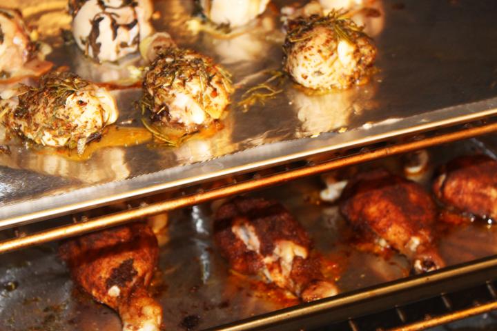 Chicken Leg Drumsticks Baking
