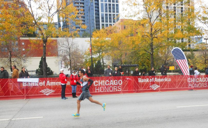Christian Mihelich - 2012 Chicago Marathon