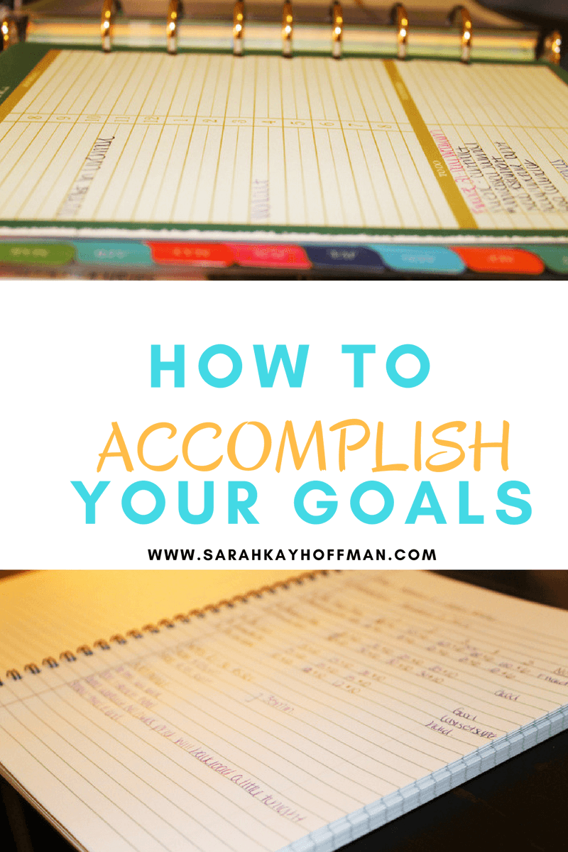 "how to accomplish goal When miranda set the goal to connect with one person a week, she did it for a good reason: it was a realistic goal that she knew she'd have time to accomplish she could have said, ""i'll connect with seven people each week."