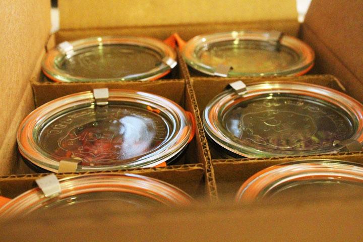 Jars in a Box