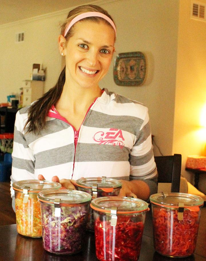 How to Simply Ferment Your Own Veggies via sarahkayhoffman.com Veg