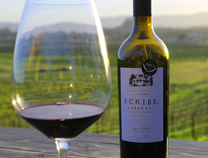SCRIBE Winery sarahkayhoffman.com Cabernet