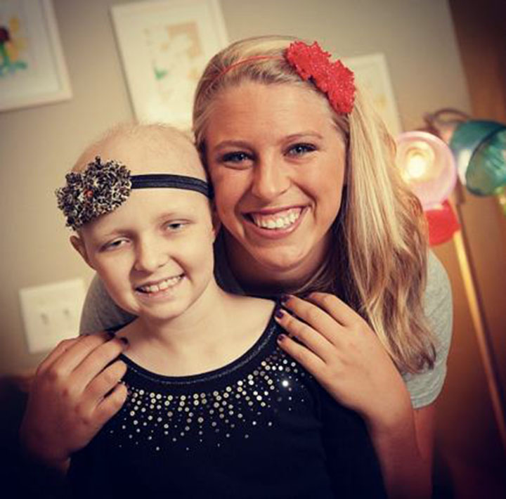 Headbands of Hope Jessica Ekstrom Headbands of Hope Little Girl via www.agutsygirl.com