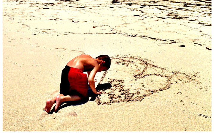 Love in the Sand. Stop the Glorification. www.agutsygirl.com