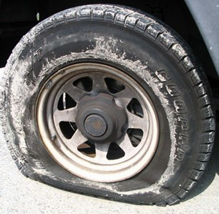 Small leaks lead to flat tires...via www.agutsygirl.com