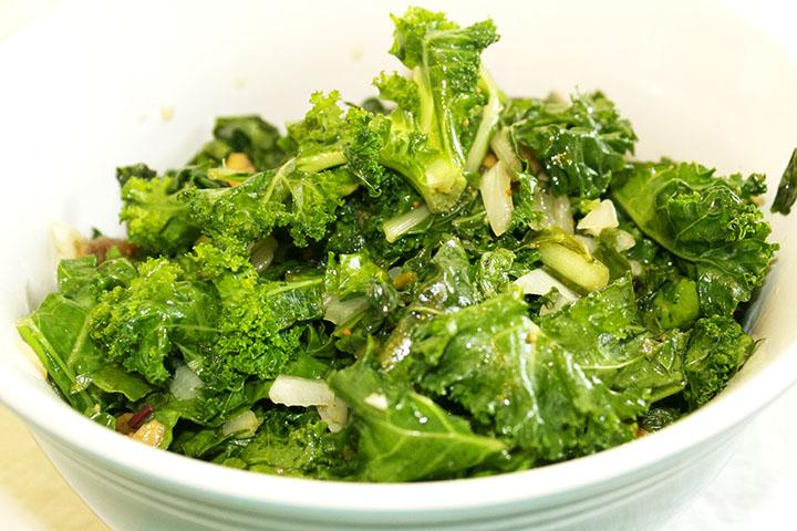 Celebration: 3 Years #GlutenFree & Sauteed Swiss Chard & Kale with Fig www.agutsygirl.com