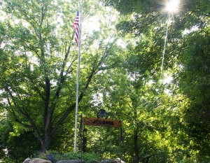 American Flag on the Farm via www.agutsygirl.com 4th of July, 2013