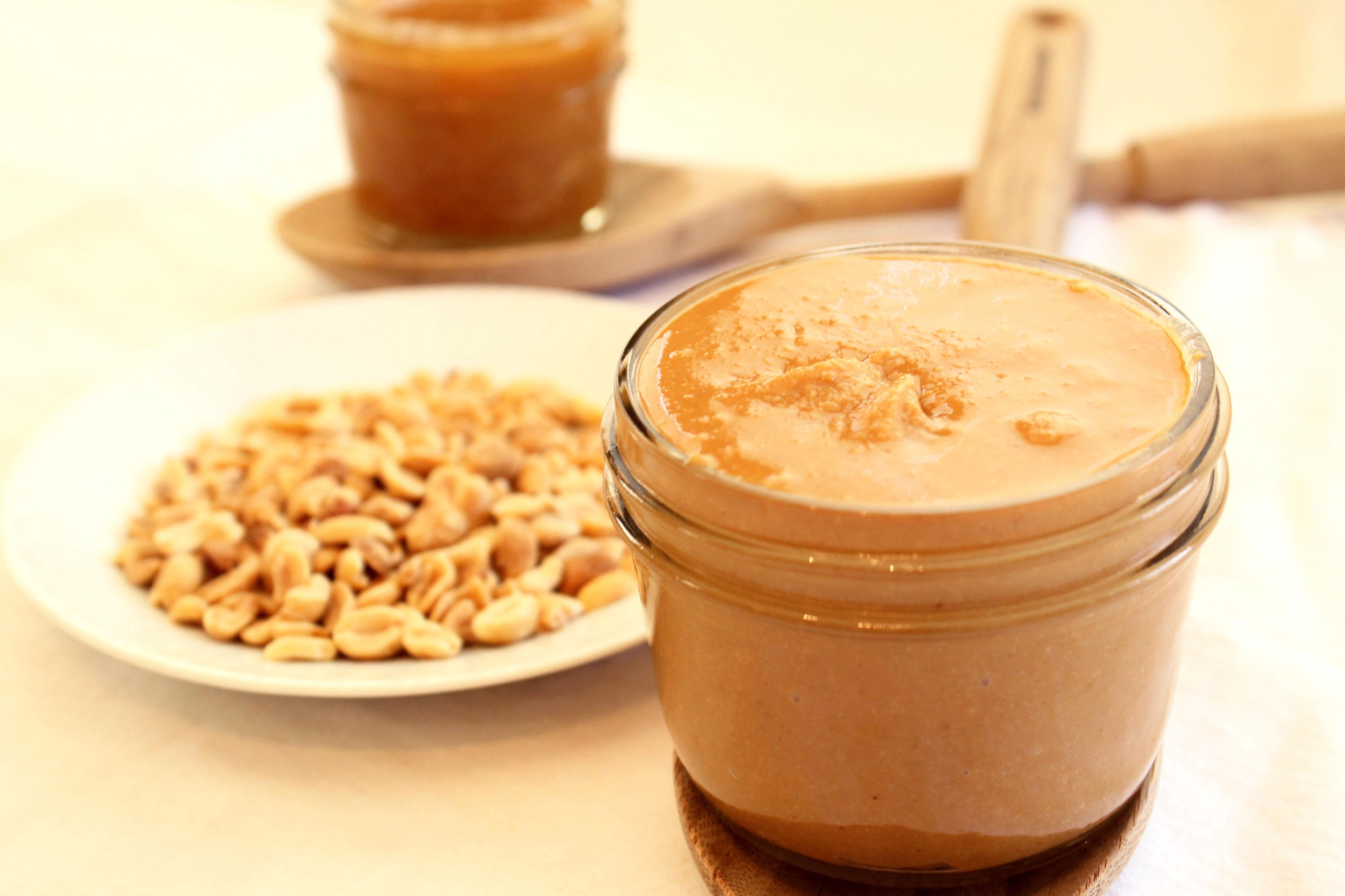 honey vanilla-bourbon peanut butter available now www.alovingspoon.com