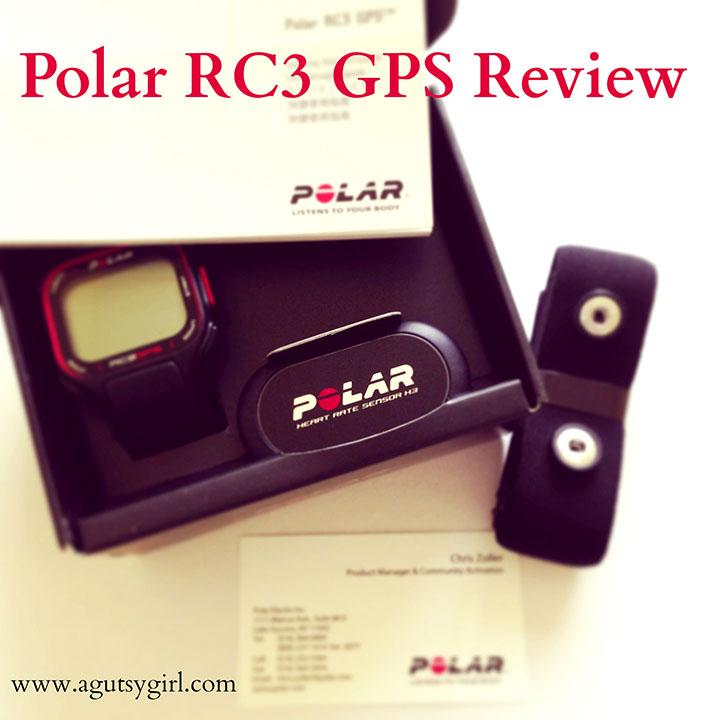 Polar RC3 GPS Review at www.agutsygirl.com