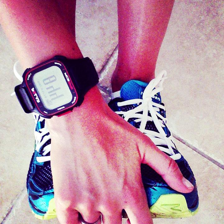 Polar & Shoes RC3 GPS #running training www.agutsygirl.com