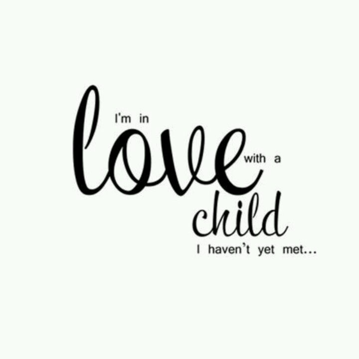 i'm in love with a child i haven't yet met....via http://pinterest.com/pin/213921051021797903/ found on www.agutsygirl.com