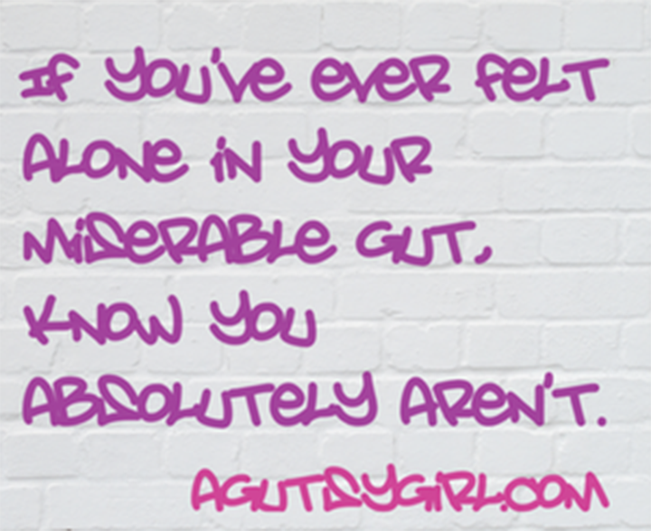 Running and Gut Flaring If you've ever felt alone in your miserable gut, know you absolutely aren't via www.agutsygirl.com
