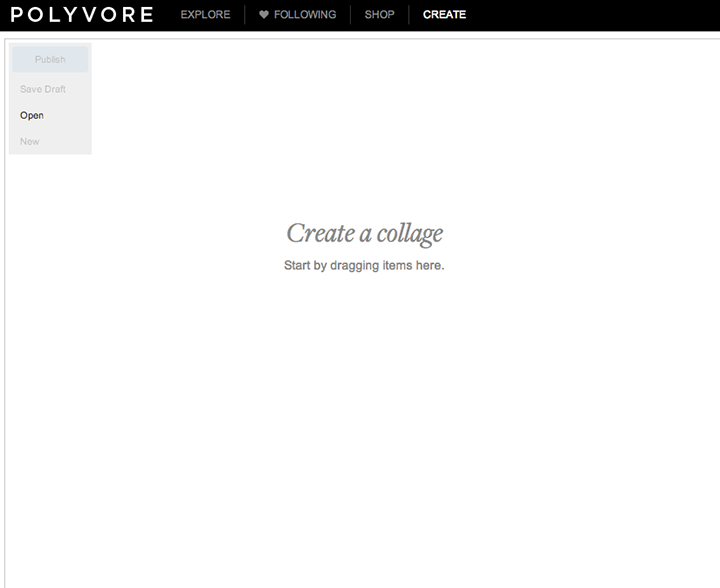 Polyvore. Helping with Writer's Block. via www.agutsygirl.com