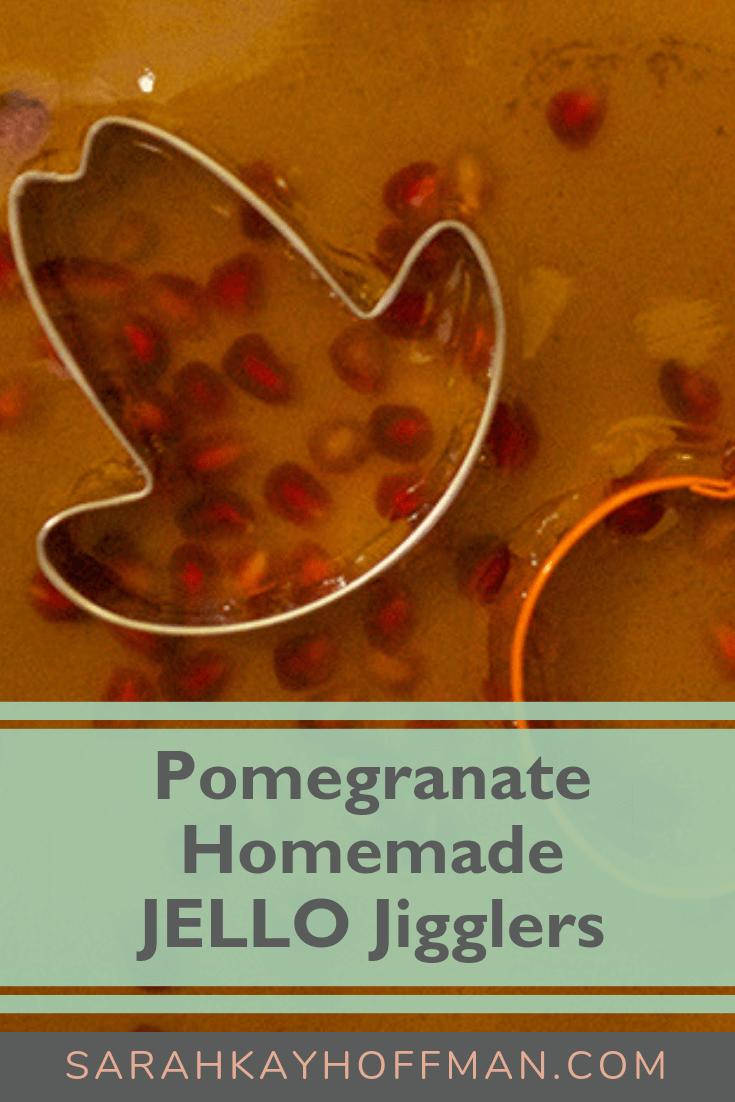 Gelatin for Gut Healing and a Pomegranate Homemade JELLO Jiggler Recipe www.sarahkayhoffman.com #guthealing #gelatin #paleorecipes
